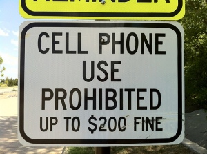 No Cell Phones
