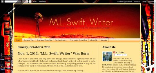 Blog Second MLS Writer