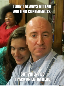 John Kelley is The Most Interesting Writer in the World. (with Risa Pedzewick and Dede Obasun Nesbitt)