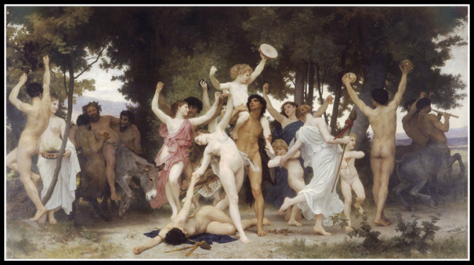 The Youth of Bacchus (Dionysus)